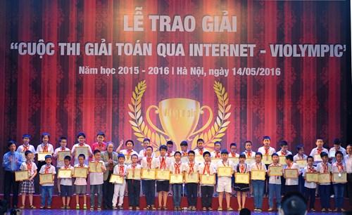 25 học sinh Điện Biên đạt giải quốc gia ViOlympic năm học 2015-2016